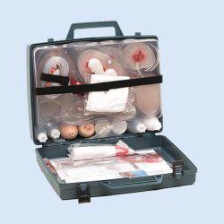 Practoplast, 32 simulatiewonden in koffer