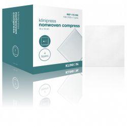 Klinion nonwoven kompres 10x10cm, verp. à 100 stuks