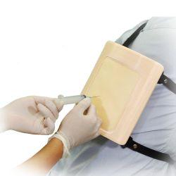 Ultrasound thoracentese simulator - strap-on set