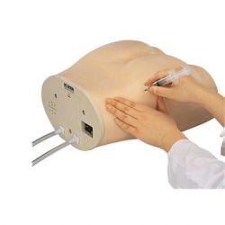 Intramusculaire injectietrainer met signaalfunctie in koffer