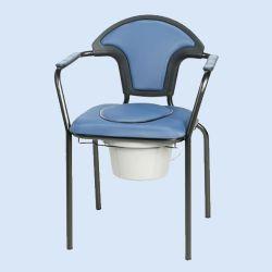 Toiletstoel, blauw