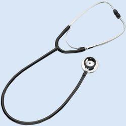 Stethoscoop Duophon, zwart, met dubbel borststuk (à 40 mm)