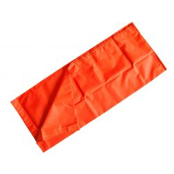 Glijzeil MaxiMIni, oranje, 110 x 110 cm, verp. 1 stuk