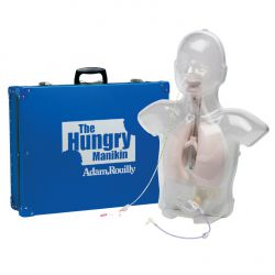 The Hungry Manikin Maagsonde en PEG model, kind