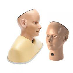 Oog en ooronderzoeks trainer, digitaal, blanke huidskleur
