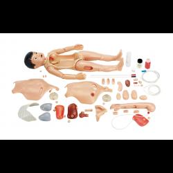 CLA verpleegkundige oefenpop kind - Aziatische afkomst