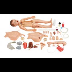 CLA verpleegkundige oefenpop kind