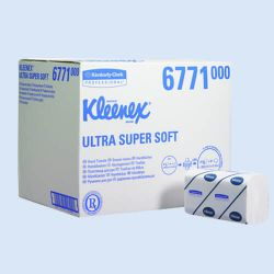 Kleenex ultra super soft handdoek medium, verp. à 2886 stuks