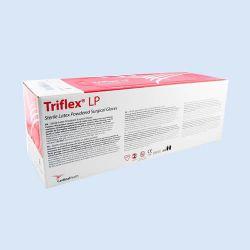 Triflex handschoen*S*  met latex en poeder maat 7  verp. à 50 paar