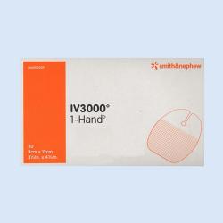 IV3000 infuuspleister 9 x 12 cm, verp. à 50 stuks