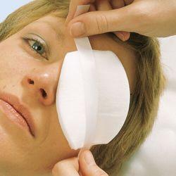 Klinion Opti oogkompres,*S* 7.60 x 5.50 cm, verp. à 35 stuks