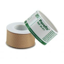 Porofix leukoplast 5m x 2,5 cm verp. 1 rol