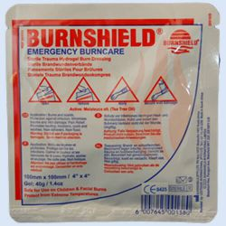 Burnshield Kompres *S*  10x10cm., verp. 1 stuk