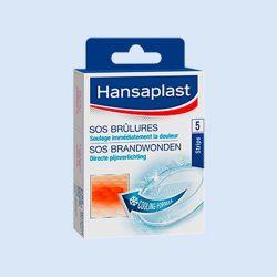 Hansaplast SOS brandwondenpleister, verp.à 5 stuks
