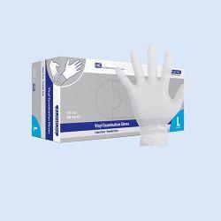 Klinion Vinyl handschoen LV/PV,*NS* maat L  doos à 100 stuks