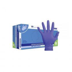 KlinionNitril handschoen Indigo LV/PV maat M verp. à 150 stuks