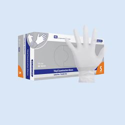 Klinion Vinyl handschoen LV/PV, *NS* maat S verp. à 100 stuks