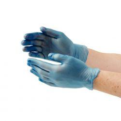 Heka Vinyl handschoen PV ,* NS* maat S verp. à  100 stuks
