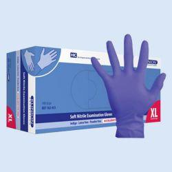 KlinionNitril handschoen LV/PV *NS* mtXL Indigo verp.à 140 st