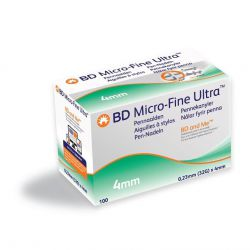 BD Micro-Fine Ultra Pennaald 32G 4mm, verp.100 stuks