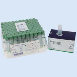 BD Vacutainerbuizen,10 ml,NH 170 I.U sodium heparine ,verp. à 100 stuks