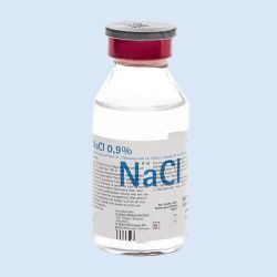 NaCl. 0,9%, 100ml, verp. 1 flesje