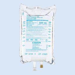 NaCl 0,9% 500 ml ecobag BBraun, verp. à 20 stuks