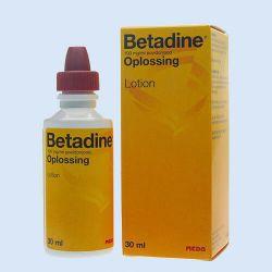 Betadine oplossing, 30 ml, verp. à 1 fles
