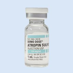Demo Dose® Atropin Sulfat Injection 0.4mg/mL 1mL,verp.à 5st.