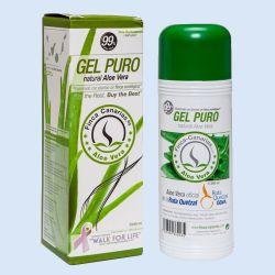 Pure Aloë Vera Gel met 99% ,  fles à 250 ml