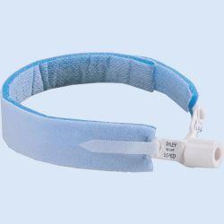 Canuleband, wasbaar, 47 mm, blauw, verp. à 10  stuks