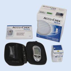 Accu-chek Aviva glucosemeter startpakket, verp. 1 stuk