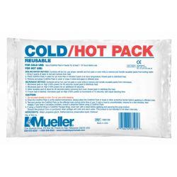 Mueller hot/cold Wrap herbr. + 2  coldpack 12 x 15cm, verp. 1 stuk