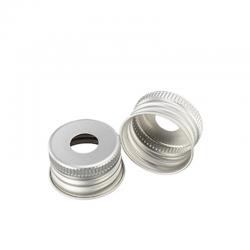 Aluminium schroefdoppen, hxø 14x24mm open, verp. à 250 stuks