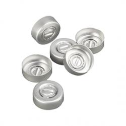 Infusie felskap Aluminium, 20mm, verp. à 1000 stuks