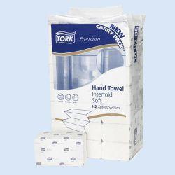 Handdoek Tork Soft, 34 x22 cm, H2,  verp. à 2100 stuks