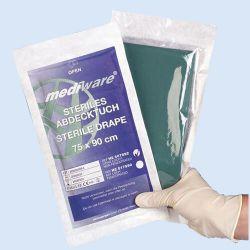 Afdekdoek groen, *S* 37 x 45 cm, zonder gat, verp. à 160 stuks