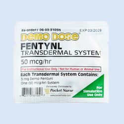 Demo dose Fentyl, transdermale pleister, verp. à 10 stuks