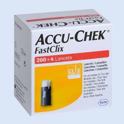 Accu-Chek Fastclix lancetten, verp. à 204 stuks