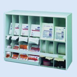 Verbanddispenser compact, 60x22x45cm, wit, verp. 1 stuk