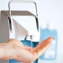 Dispenser met sensor voor 500 ml fles, verp.1 stuk