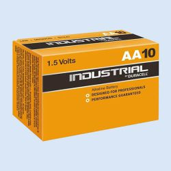 Duracell industrial batterij AA, verp. à 10  stuks