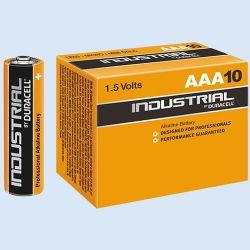 Duracell industrial batterij AAA, verp. à 10  stuks