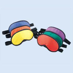 Blinddoek, verschillende kleuren, verp. à 6 stuks