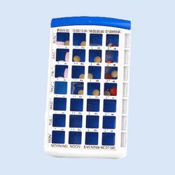 Weekcassette voor medicatie, verp. 1 stuks