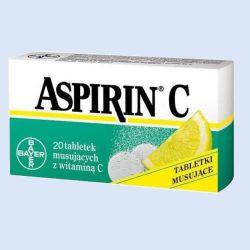 Aspirine C bruistablet, 10 tabletten, verp. 1 stuk