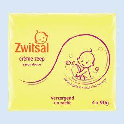 Zwitsal zeep, 90 gr., verp. à 4 stuks