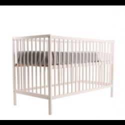 Ledikant Comfort, wit, binnenmaat 60x120 cm