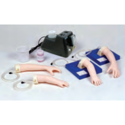 Simulator Pediatric IV Hand, set 4 armpjes