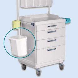 Houder met afvalbak 12 liter